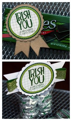 This is the perfect gift to give to co workers, friends, family, classmates, or students on St. Patrick's Day! Very clever to!