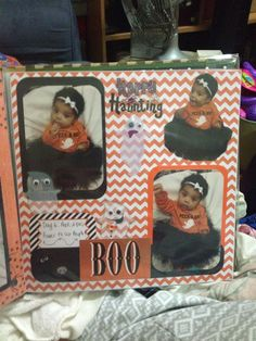 Evaween scrapbooking page i made