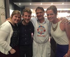 Raymond Blanc Supporting our Great British Brekkie campaign 2015