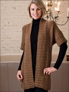 Knitting - Patterns for Wearables - Cardigan Patterns - Elbow Room