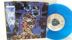 [b]SOLD[/b] DAVID BOWIE blue jean, 7 inch single, blue vinyl - SINGLES all genres, Including PICTURE DISCS, DIE-CUT, 7