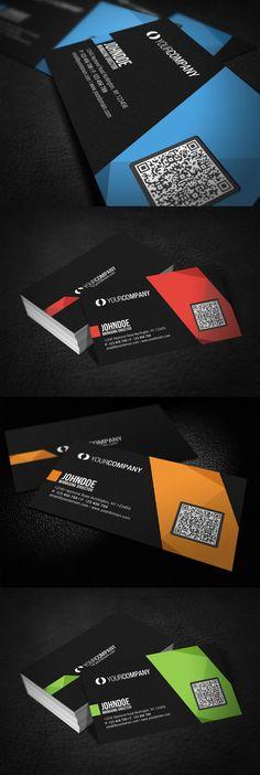 Professional QR Code Business Card by ~glenngoh on deviantART  http://www.techirsh.com