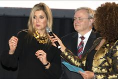 "Queen Máxima attended the launch of the ""State of the SMEs"" - 23.11.15"