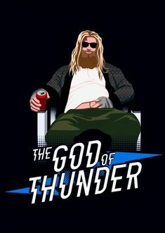Avengers: Endgame Thor is an interesting mix of MCU Thor and Norse Myth Thor. (Thor - The God of Thunder, Avengers: End Game - - Marvel Avengers, Memes Marvel, Marvel Funny, Marvel Dc Comics, Marvel Heroes, Captain Marvel, Captain America, Funny Comics, Marvel Characters
