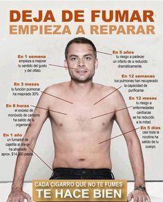 Deja de fumar.