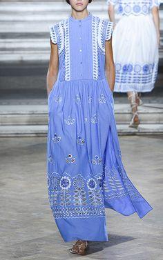 Long Gilda Dress by TEMPERLEY LONDON for Preorder on Moda Operandi