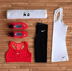 65 Ideas Sport Outfit Gym Leggings Nike Shoes Outlet For 2019 Nike Outfits, Sport Outfits, Casual Outfits, Running Outfits, Sport Fitness, Fitness Workouts, Fitness Style, Fitness Wear, Fitness Motivation