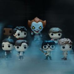 The upcoming funko figurines for the losers club #pennywise #itmovie #itmovie2017 #funkopop #figurines #funko #losersclub