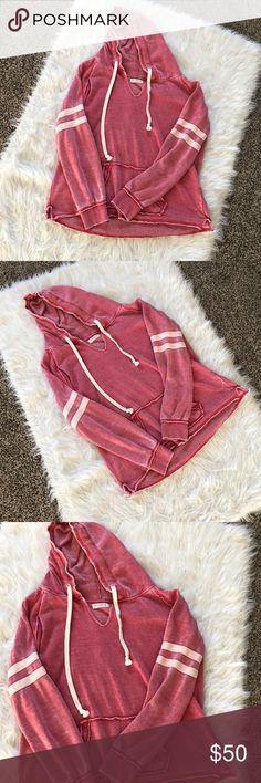 Ocean Drive Clothing Co. Varsity Pullover Hoodie Ocean Drive Clothing Co. Varsity Pullover Hoodie Ocean Drive Tops Sweatshirts & Hoodies