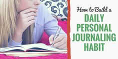 "Have you ever tried to start a journaling habit, only to quit a few days later?Personally, my problem was always starting and stopping.I'd get excited about writing a daily journal, and for the first week, everything would go smoothly. Then, I'd get busy one day and decide that ""missing one day won't hurt."" The next …"