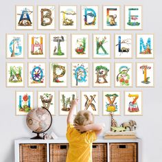 The entire South African Animal Alphabet in 26 individual A4 letters. Perfect for teachers or spacious play rooms. Wonderfully whimsical. Fabulously unique. Proudly South African! ❤️ Now available in my online shop! #teachersrule #homeschooling www.thehappystrugglingartist.co.za Play Rooms, Animal Alphabet, Protective Packaging, African Animals, Homeschooling, A4, Baby Shower Gifts, Whimsical, Gallery Wall