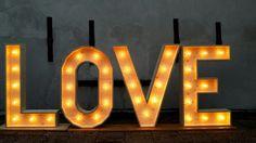 Perfect voor op je bruiloft ♡ #love #lichtletters #marqueeletters www.lumenlichtletters.nl