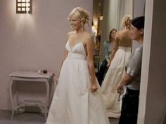 Sister's dress from 27 dresses Movie Wedding Dresses, Wedding Movies, Wedding Gowns, Wedding Things, Wedding Stuff, Dream Wedding, Wedding Ideas, Katherine Heigl, Wedding Dress Gallery