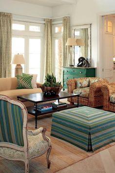 georgianadesign:    Designer Billy Roberts on Sea Island, Georgia. Atlanta Homes & Lifestyles.