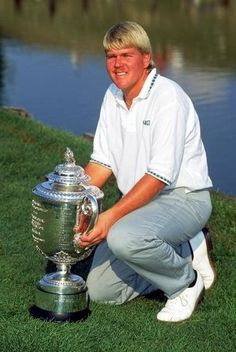 John Daly - Pro Golfer Never will forget his first win....I cried!