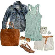 """springing into summer"" by stantau on Polyvore"
