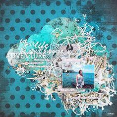 Моя первая страничка для отборочного тура конкурса #скрапбукергода2015 от #скрапинфо с облаком и списком важных вещей, которые нужно успеть сделать в жизни. Один пункт из списка - подарить миру миллион улыбок! Люблю делиться позитивом, радостью и хорошим настроением!☺️ так что ловите!☀ My layout about things to do before it's too late. So... Let your life be your biggest adventure! #scrap #scrapbooking #layout #7dotsstudio #silhouettecameo #скрап #скрапбукинг #страничка…