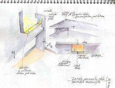 ecovastudesign / Vancura's Apartment / Work space design