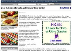 Free dinner? No, thanks. | 101 Really Unfortunate Internet Ad Placements