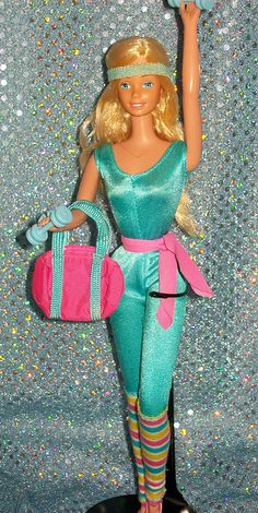 Barbie - Great Shape Barbie, 1983 (heh, Toy Story! I think I only have her bag by now..)