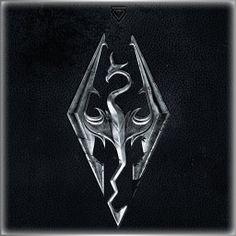 The Elder Scrolls V: Skyrim Skyrim Wallpaper Iphone, Black Phone Wallpaper, Cellphone Wallpaper, Wallpaper Backgrounds, Wallpapers, The Elder Scrolls, Elder Scrolls V Skyrim, Dragonborn Skyrim, Launcher Icon