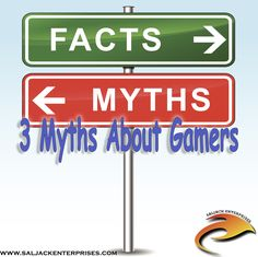 Not all gamers are smelly, fat introverts living in a basement. Not all gamers are socially inept teens with four eyes and greasy hair. In fact, if we all look at the pop culture's depiction of gaming enthusiasts, we may see that most of the video game folks are just normal people who want to get entertained.  Stereotypes are contextual. They are true in a given period or setting, but never across the board. These misconceptions are a classic mixture of selection bias and confirmation bias.