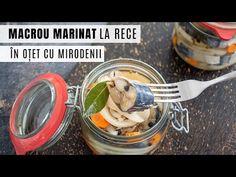 Cea mai simplă rețetă de macrou marinat la rece. Macrou marinat în oțet, cu rondele de ceapă, morcov și mirodenii. Conservă de pește de casă. Garlic Press, Cooking, Youtube, Canning, Alternative, Kitchen, Youtubers, Brewing, Cuisine