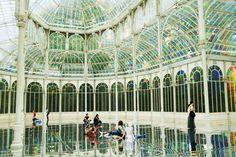 Palacio de Cristal in Parque del Buen Retiro, Madrid