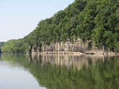 Cumberland  River Bluffs, Hartsville TN Cumberland River, In The Beginning God, South Of France, Jamaica, Places Ive Been, Tennessee, Caribbean, Hawaii, The Past