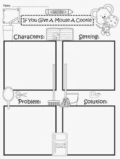 A free graphic organizer to use with any fairy tale genre
