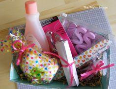 Pedicure kit {teacher appreciation gift}