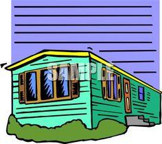 mobile home clip art - Google Search