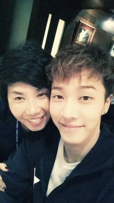 "BEAST Lee Gikwang, Selfie With His Mom ""Do We Look Alike?"" http://www.kpopstarz.com/articles/144801/20141202/beast-lee-gikwang-selfie-with-his-mom-do-we-look-alike.htm"