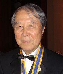 Yoichiro Nambu (born January 18, 1921) is an American physicist. Known for his contributions to the field of theoretical physics, he was awarded the 2008 Nobel Prize in Physics for the discovery, in 1960, of the mechanism of spontaneous broken symmetry in subatomic physics, related at first to the strong interaction's chiral symmetry and later to the electroweak interaction and Higgs mechanism.