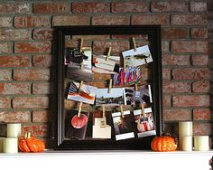 moms-who-click_decorate with small photos_tocofi Small Photo Prints, Photo Displays, Display Photos, Display Ideas, Home Crafts, Diy Crafts, Gems For Sale, Frame Display, Diy On A Budget