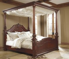 Elegant Canopy Bed Curtains King With Majestic Cream Color Sheer Drape Cover Design - Romantic Bed Canopy Drapes, Queen Canopy Bed Drapes. Canopy Bed Drapes, Canopy Bedroom Sets, Queen Canopy Bed, Master Bedroom, Wood Canopy, Bedroom Brown, Window Canopy, Beach Canopy, Bedroom Decor
