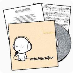 Unser Minimusikersong stellt musikalisch ganz viele beliebte Kinderlieder vor. Erkennt ihr alle Titel? Beim Refrain darf freudig mitgeklatscht werden - Hört hin, schaut her - Wir sind Minimusiker!
