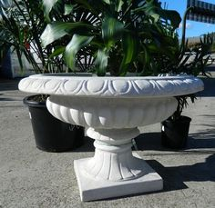 Concrete Urn Planter
