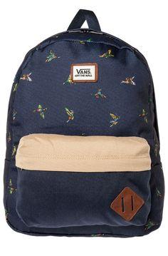 Vans Backpack The Old Skool in Navy Duck Blue