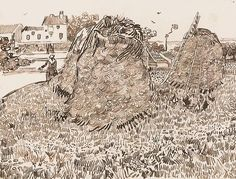Google Image Result for http://uploads0.wikipaintings.org/images/vincent-van-gogh/haystacks-near-a-farm-1888-1(1).jpg