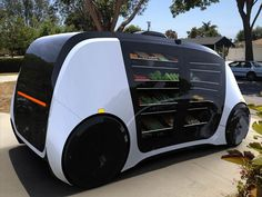 robotics startup robomart is the 'world's first self-driving store' Minivan, Scooter Bike, Futuristic Cars, Self Driving, Transportation Design, Future Car, Electric Cars, Concept Cars, First World
