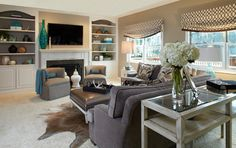 Young Family-Family Room Transformation-Family Room A - eclectic - family room - chicago - Susan Brunstrum of SWEET PEAS DESIGN INC
