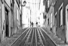 LISBON- ALONE ON THE STREET