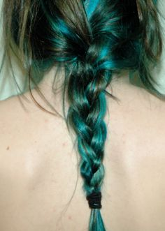 turquoise and brown  I still really want to do this.  Just a peek here and there!l