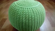 "STUFFED Crochet Pouf 30 cm/40 cm/13,5""/16""/Poof/Ottoman/Footstool/Home Decor/Pillow/Bean Bag/Floor cushion by AnuszkaDesign on Etsy"