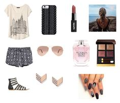 """""""New York City🏨"""" by isabellerivette on Polyvore featuring Banana Republic, Savannah Hayes, Ray-Ban, FOSSIL, Tom Ford and Victoria's Secret"""