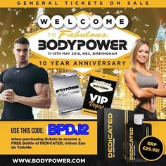 Bodypower Ambassador Promo Code BPDJ2 Bodypower Expo 2018 will be the biggest and greatest fitness expo ever and this this year will be the 10th anniversary of the show. To celebrate the bodypower team have made this year, Vegas themes and its will be a huge and fun packed weekend of all things fitness. This+ Read More https://1stforfitness.co.uk/bodypowerexpo/