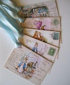 Beatrix Potter Easter Postcards
