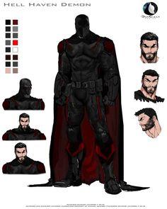 Superhero Suits, Superhero Characters, Superhero Design, Comic Books Art, Comic Art, Ninja Art, Comic Character, Character Education, Physical Education