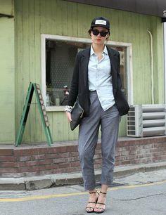 Gangnam Street Style Seoul | ELLE UK